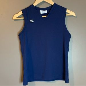 Champion navy work out tank